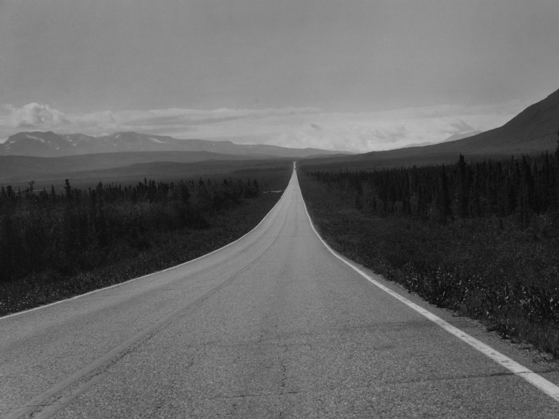 Alaska Alaska Rt 2 and 4 Fairbanks to Valdez AK
