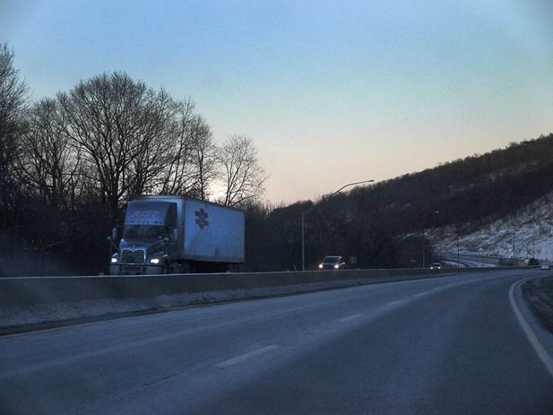 trip through central Pennsylvania