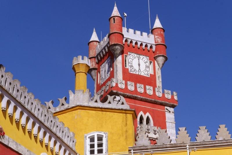 Sintra, Portugal Pena Palace, Moorish Castle & Sintra, including the train