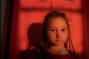 Red sunlight girl Israel sm.jpg