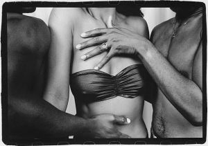 Men's hands on woman's torso 1991 sm.jpg